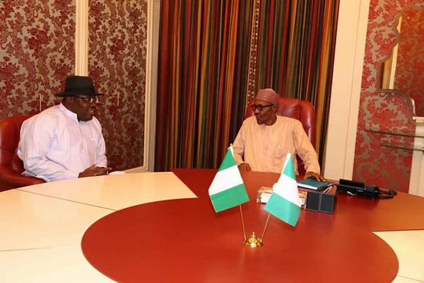 Dickson-visits-Buhari